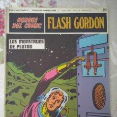 Cómics: BURU LAN: HEROES DEL COMIC FLASH GORDON NUM. 93. BUEN ESTADO ( EDITORIAL BURULAN ). Lote 112009003