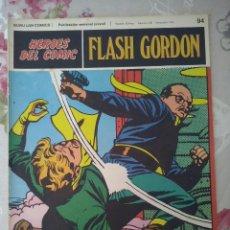 Cómics: BURU LAN: HEROES DEL COMIC FLASH GORDON NUM. 94. BUEN ESTADO ( EDITORIAL BURULAN ). Lote 112009387