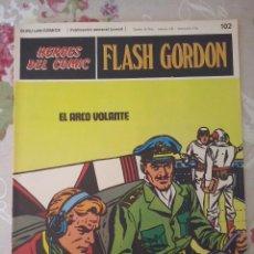 Cómics: BURU LAN: HEROES DEL COMIC FLASH GORDON NUM. 102 . MUY BUEN ESTADO ( EDITORIAL BURULAN ). Lote 112009967