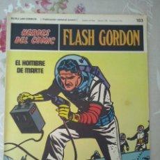 Cómics: BURU LAN: HEROES DEL COMIC FLASH GORDON NUM. 103. BUEN ESTADO ( EDITORIAL BURULAN ). Lote 112010079