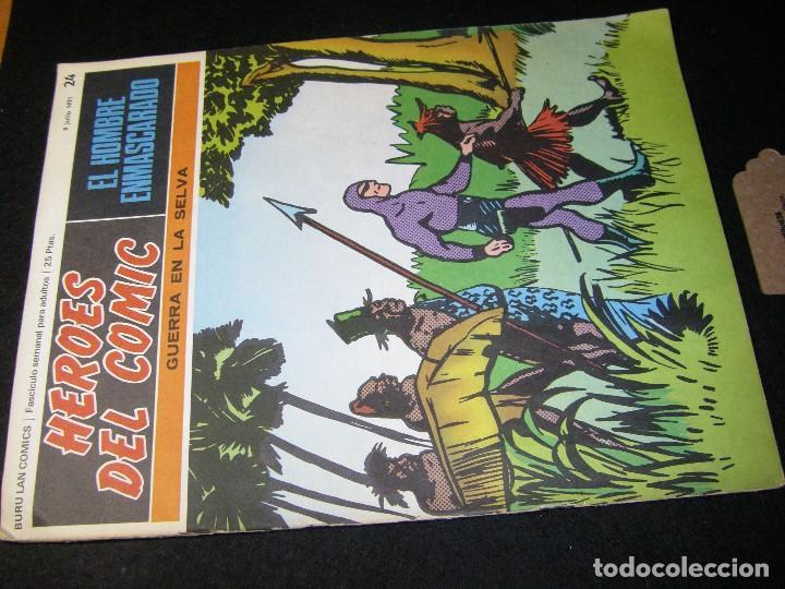 Cómics: héroes del cómic. El hombre enmascarado. Guerra en la selva, Julio 1971 Buru Lan - Foto 4 - 112024307