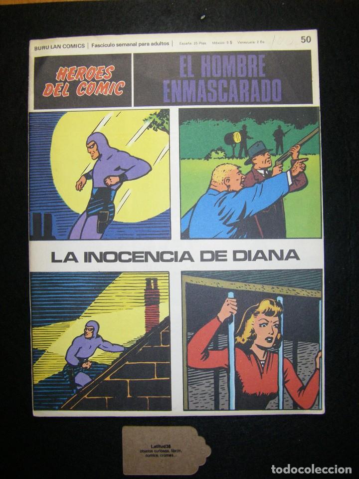 EL HOMBRE ENMASCARADO. LA INOCENCIA DE DIANA, BURU LAN (Tebeos y Comics - Buru-Lan - Hombre Enmascarado)