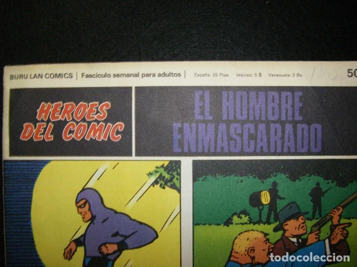 Cómics: El hombre enmascarado. La inocencia de Diana, Buru Lan - Foto 6 - 112024383