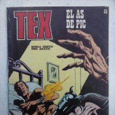 Cómics: TEX Nº 55 BURULAN - BUENA CONSERVACIÓN. Lote 112263475