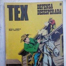 Cómics: TEX Nº 59 BURULAN - BUENA CONSERVACIÓN. Lote 112263607
