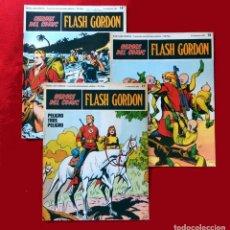 Cómics: FLASH GORDON,LOTE 3 FASCICULOS PERTENECIENTES AL TOMO 2, 1971 - Nº . 17, 18 Y 19, BURU LAN COMICS.. Lote 112660547