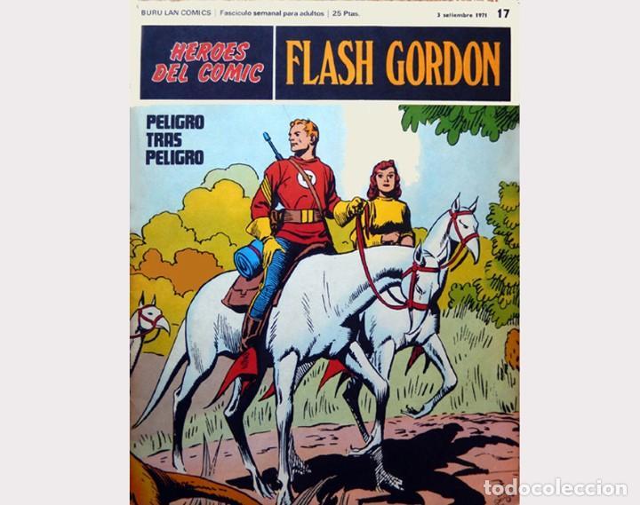 Cómics: FLASH GORDON,LOTE 3 FASCICULOS PERTENECIENTES AL TOMO 2, 1971 - Nº . 17, 18 y 19, BURU LAN COMICS. - Foto 3 - 112660547
