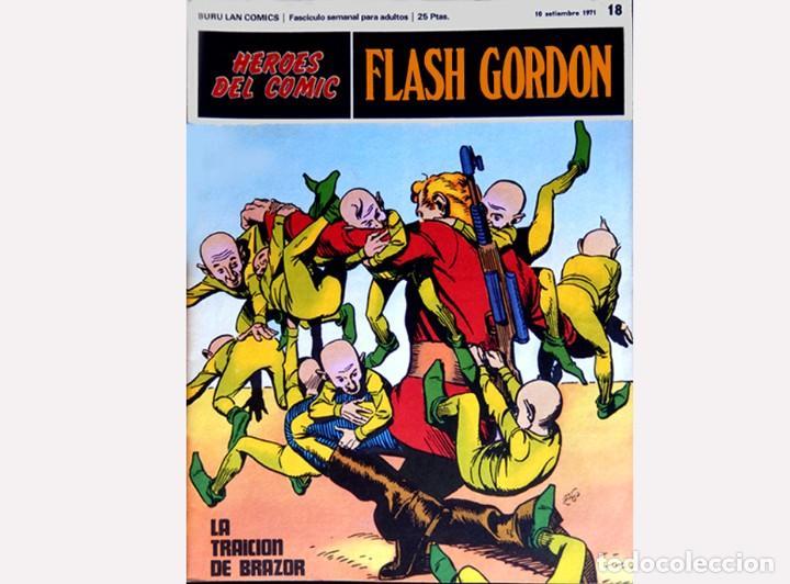 Cómics: FLASH GORDON,LOTE 3 FASCICULOS PERTENECIENTES AL TOMO 2, 1971 - Nº . 17, 18 y 19, BURU LAN COMICS. - Foto 4 - 112660547