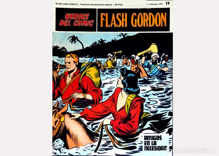 Cómics: FLASH GORDON,LOTE 3 FASCICULOS PERTENECIENTES AL TOMO 2, 1971 - Nº . 17, 18 y 19, BURU LAN COMICS. - Foto 5 - 112660547
