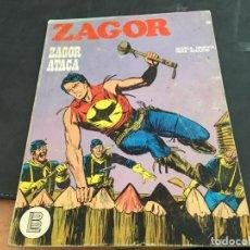 Cómics: ZAGOR Nº 36 ZAGOR ATACA (BURULAN) (COI58). Lote 113111659