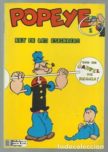 POPEYE Nº 1: EL REY DE LAS ESPINACAS, 1970, BURU LAN, MUY BUEN ESTADO. CONTIENE POSTER 1, POPEYE (Tebeos y Comics - Buru-Lan - Popeye)