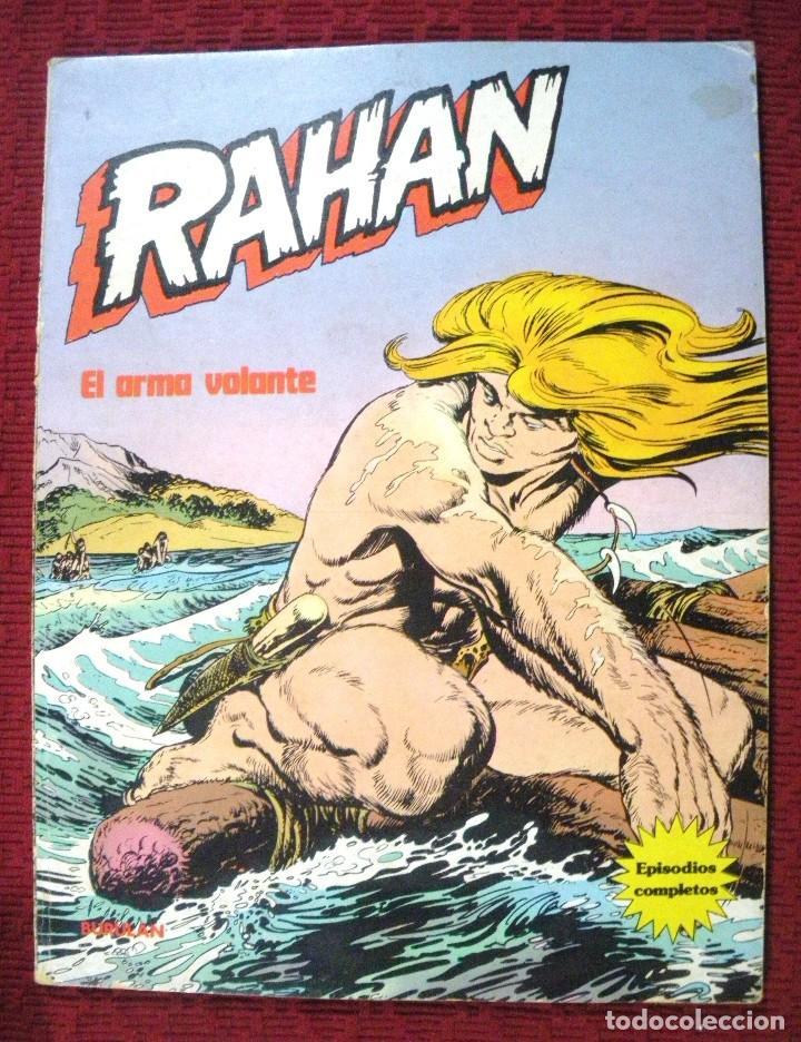 RAHAN Nº 4, AÑO 1974. (Tebeos y Comics - Buru-Lan - Rahan)