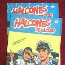 Cómics: HALCONES DE ACERO Nº 1 Y 2.. Lote 113687103