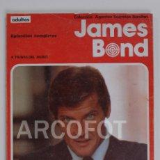 Cómics: COLECCIÓN AGENTES SECRETOS BURULAN - JAMES BOND - A TRAVÉS DEL MURO - BURU LAN 1974. Lote 113921555