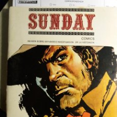 Cómics: REVISTA SUNDAY,NºS 6, 7/8, 10, 14. ESTUDIOS SOBRE COMIC.. Lote 114289999