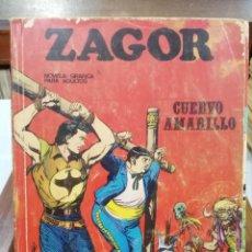 Cómics: ZAGOR - Nº 4 - BURU LAND EDICIONES 1972. Lote 114523639