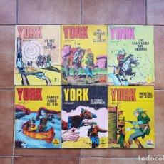 Cómics: SARGENTO YORK. 6 NÚMEROS COLECCIÓN COMPLETA. BURU LAN.. Lote 114586947