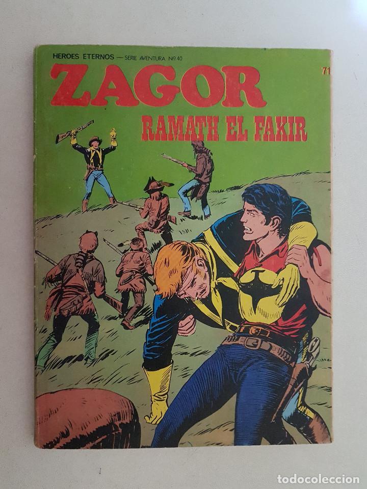 ZAGOR. Nº 71. BURU LAN. (Tebeos y Comics - Buru-Lan - Zagor)
