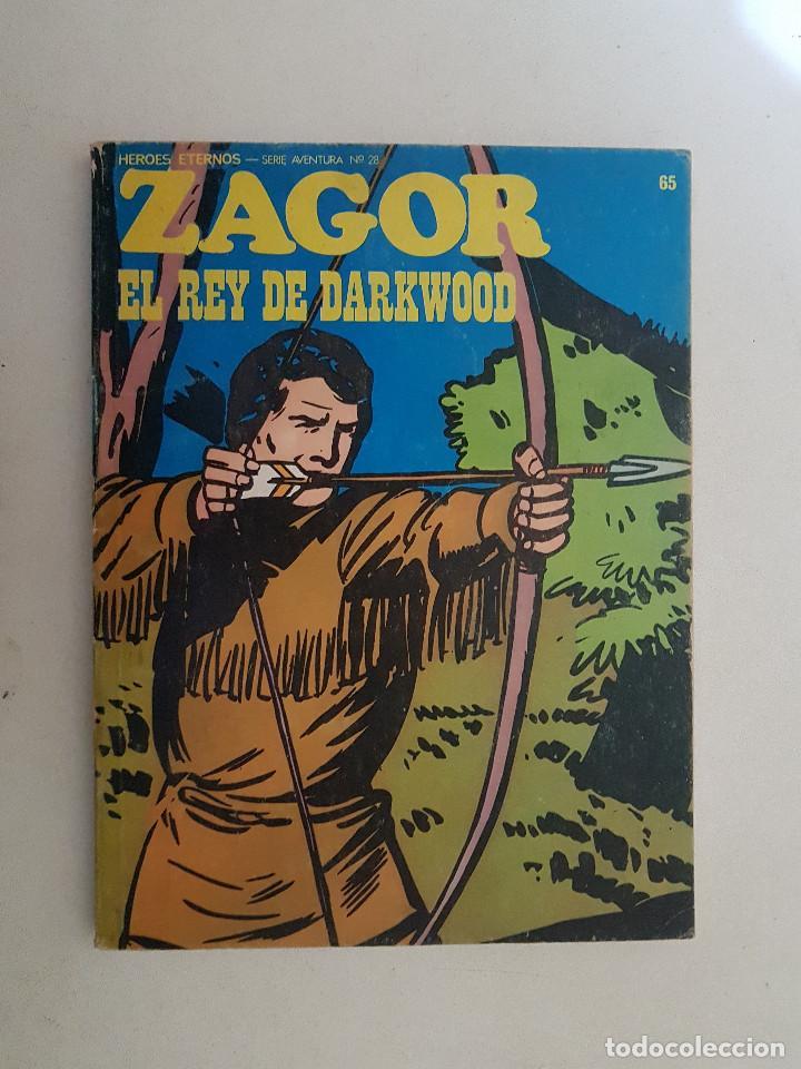 ZAGOR. Nº 65. BURU LAN. (Tebeos y Comics - Buru-Lan - Zagor)