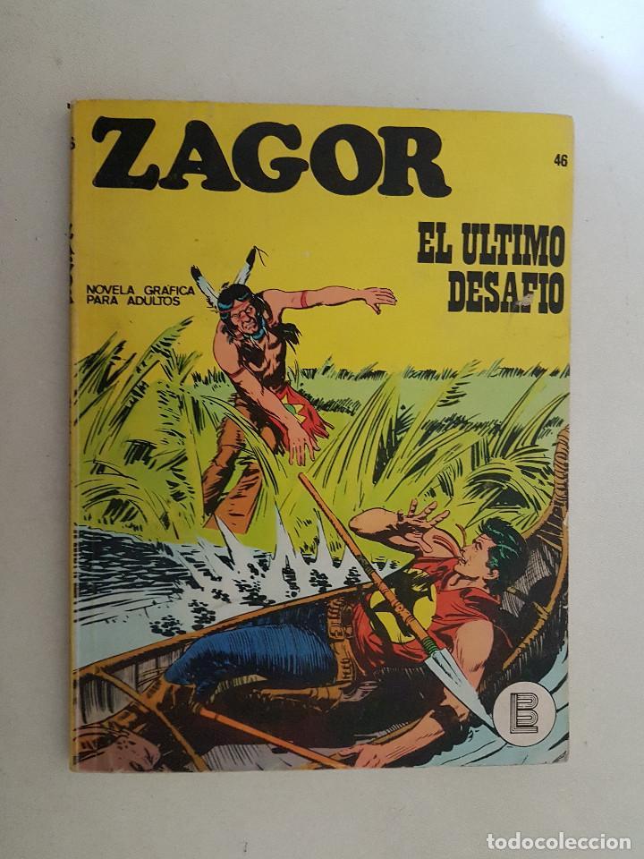 ZAGOR Nº 46. BURU LAN. (Tebeos y Comics - Buru-Lan - Zagor)