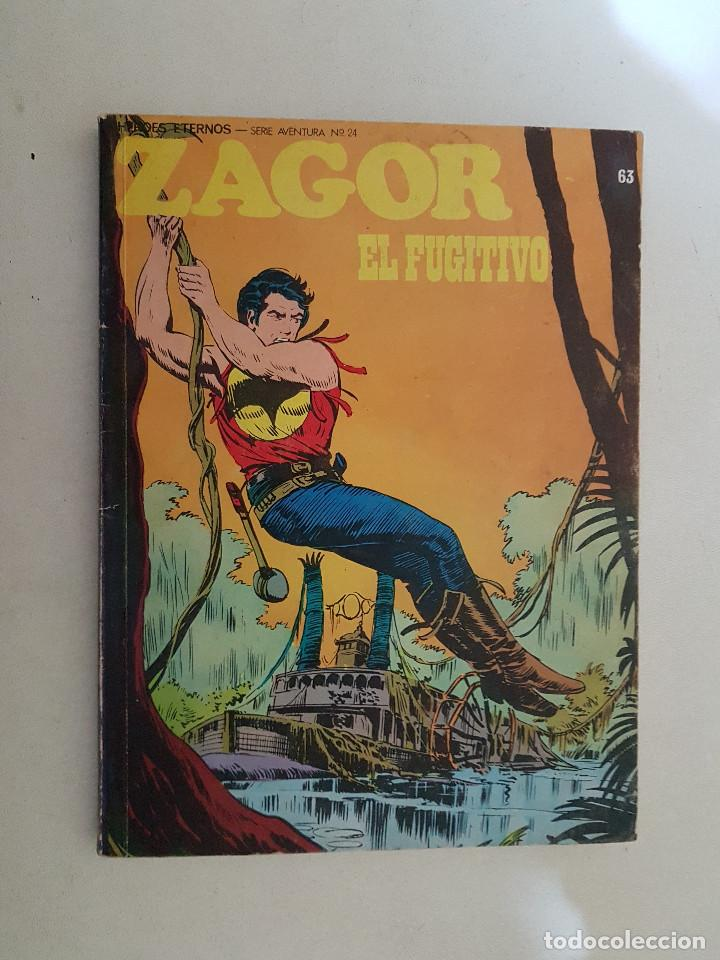 ZAGOR. Nº 63. BURU LAN. (Tebeos y Comics - Buru-Lan - Zagor)