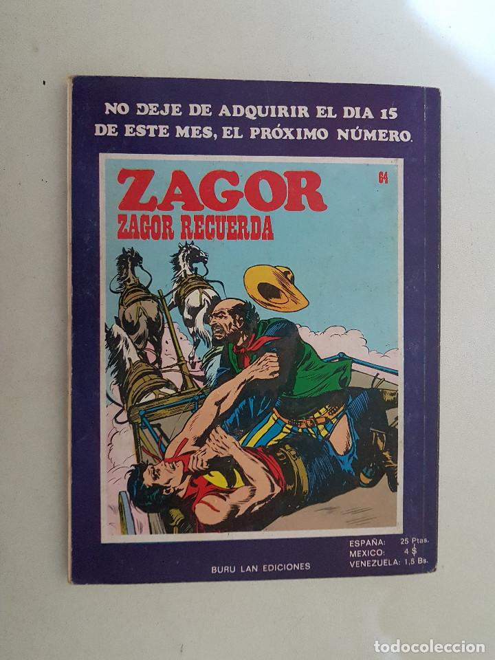 Cómics: Zagor. Nº 63. Buru Lan. - Foto 2 - 114639771