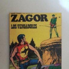 Cómics: ZAGOR Nº 54. BURU LAN.. Lote 114640743