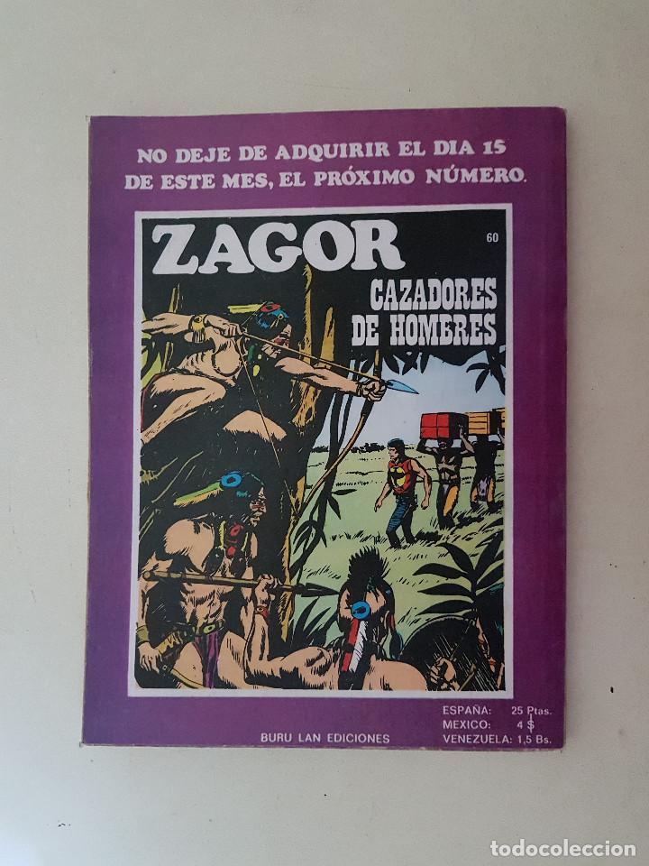 Cómics: Zagor Nº 59. Buru Lan. - Foto 2 - 114641995