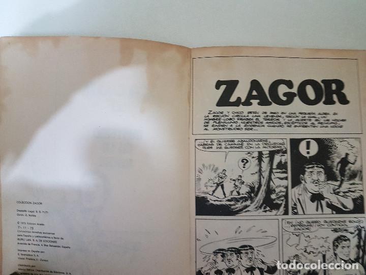 Cómics: Zagor Nº 59. Buru Lan. - Foto 4 - 114641995