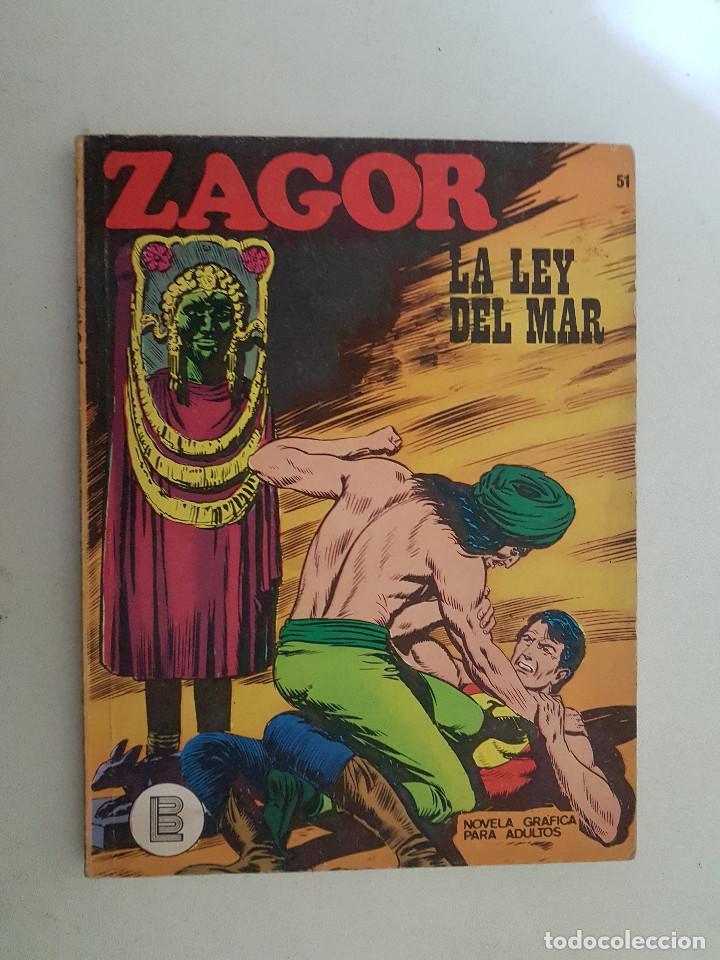 ZAGOR Nº 51. BURU LAN. (Tebeos y Comics - Buru-Lan - Zagor)