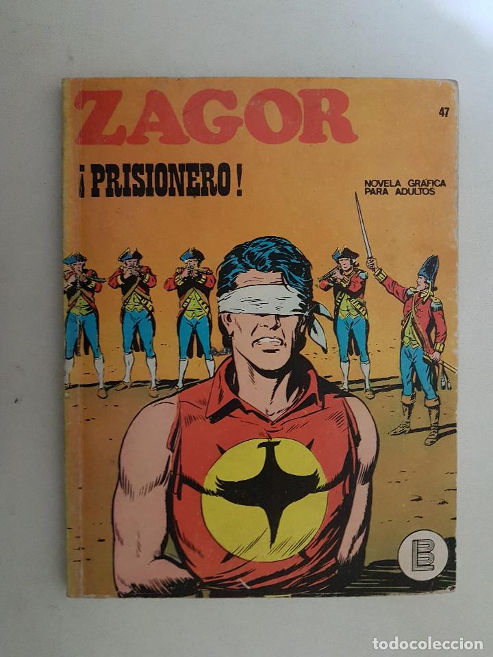 ZAGOR Nº 47. BURU LAN. (Tebeos y Comics - Buru-Lan - Zagor)