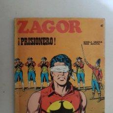 Cómics: ZAGOR Nº 47. BURU LAN.. Lote 114643307