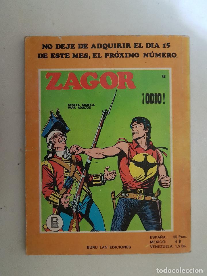 Cómics: Zagor Nº 47. Buru Lan. - Foto 2 - 114643307