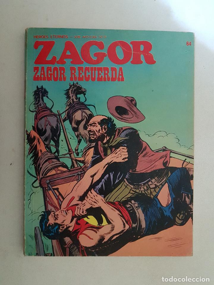 ZAGOR. Nº 64. BURU LAN. (Tebeos y Comics - Buru-Lan - Zagor)