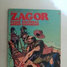 Cómics: ZAGOR. Nº 64. BURU LAN.. Lote 114645083