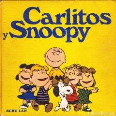 Cómics: CARLITOS Y SNOOPY 7 TOMOS BURU LAN 1972. Lote 145713184