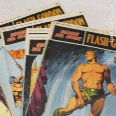 Cómics: LOTE 10 COMIC, HEROES DEL COMIC, FLASH GORDON, 1972, TOMO 01 COMPLETO. Lote 114865007