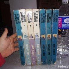 Cómics: EL HOMBRE ENMASCARADO - HÉROES DEL CÓMIC - 7 TOMOS - BURU LAN 1972 MIREN FOTOS. Lote 115073323