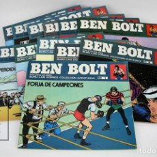 Cómics: COLECCIÓN COMPLETA - BEN BOLT / COLECCIÓN AVENTURAS Nº 1 AL 12 - EDICIONES BURU LAN - AÑO 1973. Lote 115108007