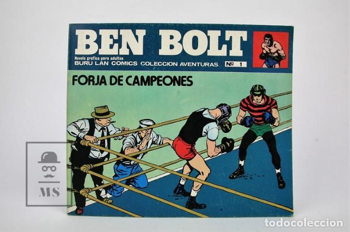Cómics: Colección completa - Ben Bolt / Colección Aventuras Nº 1 Al 12 - Ediciones Buru Lan - Año 1973 - Foto 2 - 115108007