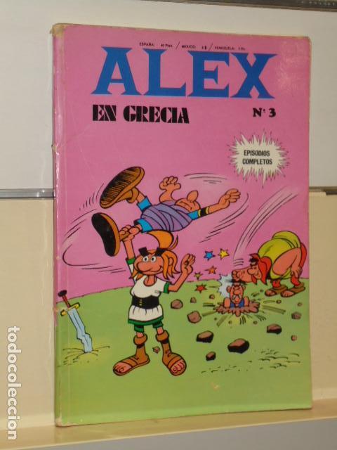 ALEX EN GRECIA Nº 3 EPISODIOS COMPLETOS - BURU LAN - (Tebeos y Comics - Buru-Lan - Otros)