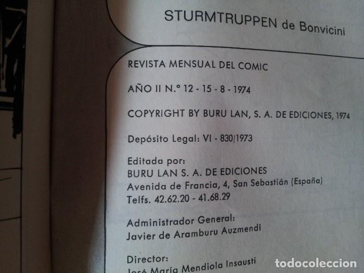 Cómics: ZEPPELIN - REVISTA MENSUAL DEL COMIC - 12 NÚMEROS EN 1 TOMO - BURU LAN EDICIONES 1973/74 - Foto 7 - 115233959