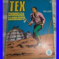 Cómics: TEX 22 EMBOSCADA SANGRIENTA BURULAN 1971 TACO . Lote 115741335