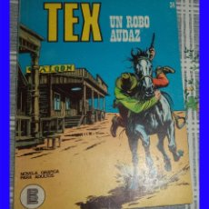 Cómics: TEX 34 UN ROBO AUDAZ BURULAN 1972 TACO. Lote 115741503