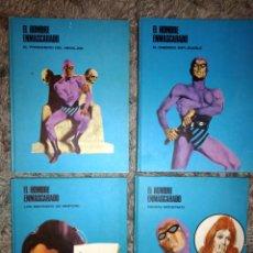Cómics: HEROES DEL COMIC, EL HOMBRE ENMASCARADO TOMO 1,3,4,7 EXCELENTE ESTADO. Lote 116134208