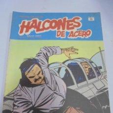 Cómics: HEROES DEL COMIC. HALCONES DE ACERO. Nº 19. EDICIONES BURULAN. Lote 116403735