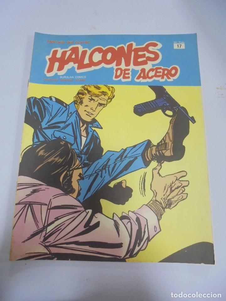 HEROES DEL COMIC. HALCONES DE ACERO. Nº 17. EDICIONES BURULAN (Tebeos y Comics - Buru-Lan - Halcones de Acero)