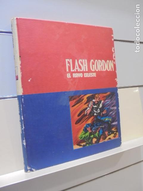 FLASH GORDON TOMO 01 EL RAYO CELESTE - BURU LAN - (Tebeos y Comics - Buru-Lan - Flash Gordon)