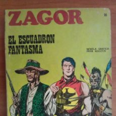 Cómics: 1972 ZAGOR - EL ESCUADRÓN FANTASMA - N´º 20. Lote 116610863
