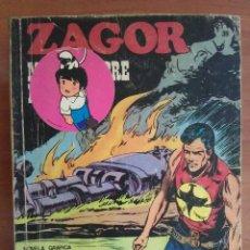 Cómics: 1972 ZAGOR - MUERTE SOBRE EL RÍO / Nº 39. Lote 116611163